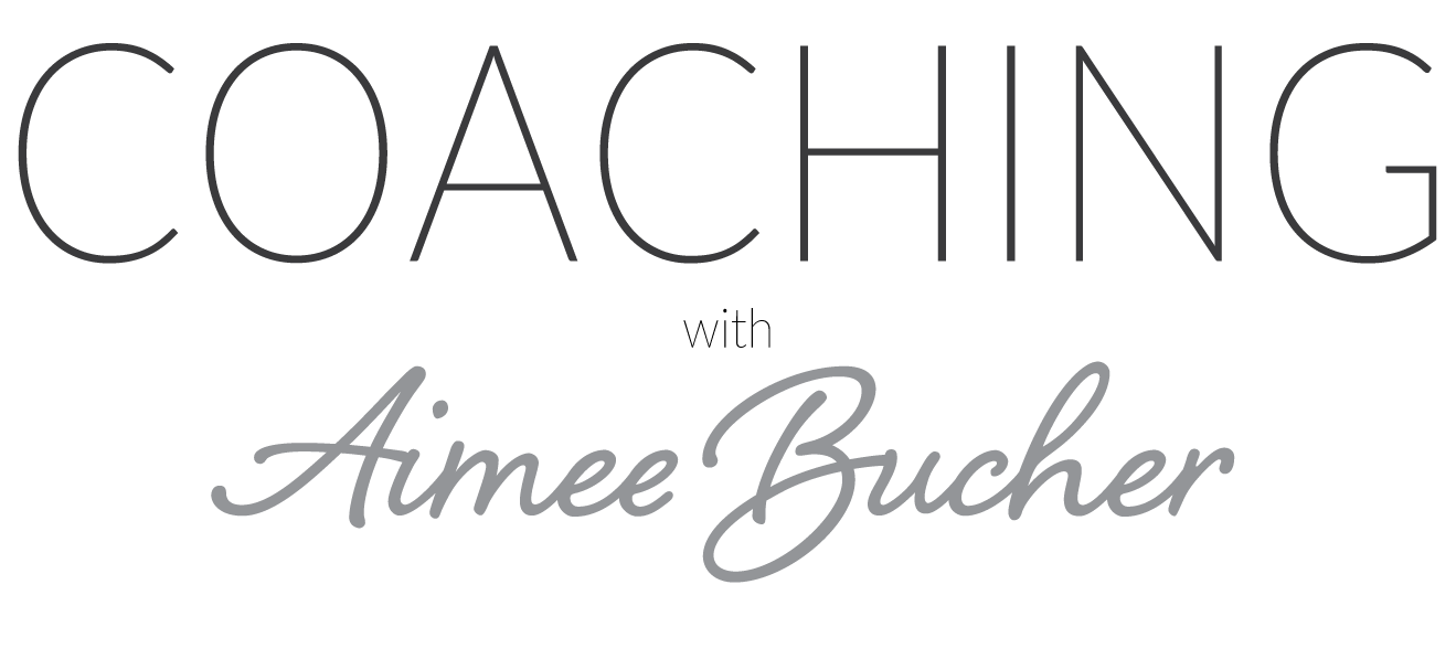Life Coaching with Aimee Bucher